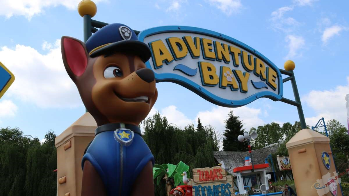 PAW Patrol im Movie Park Germany