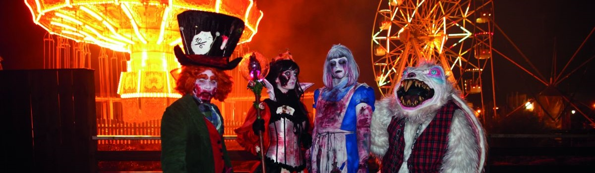 Vier Neuheiten zum Halloween Horror Fest im Movie Park Germany