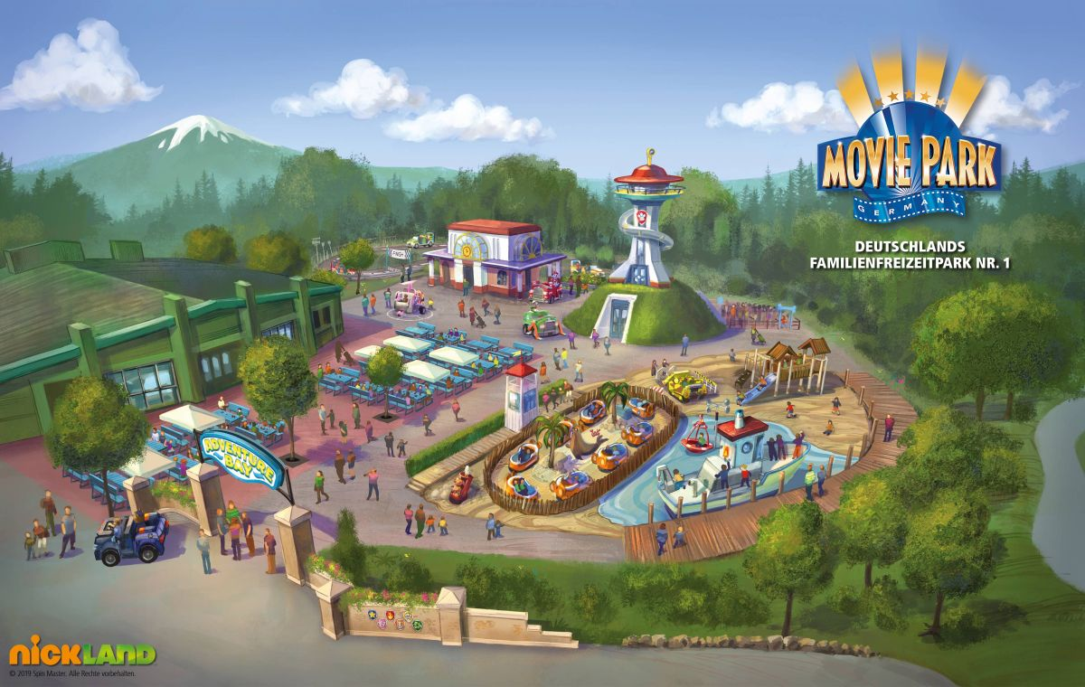 PAW Patrol Adventure Bay im Movie Park Germnay