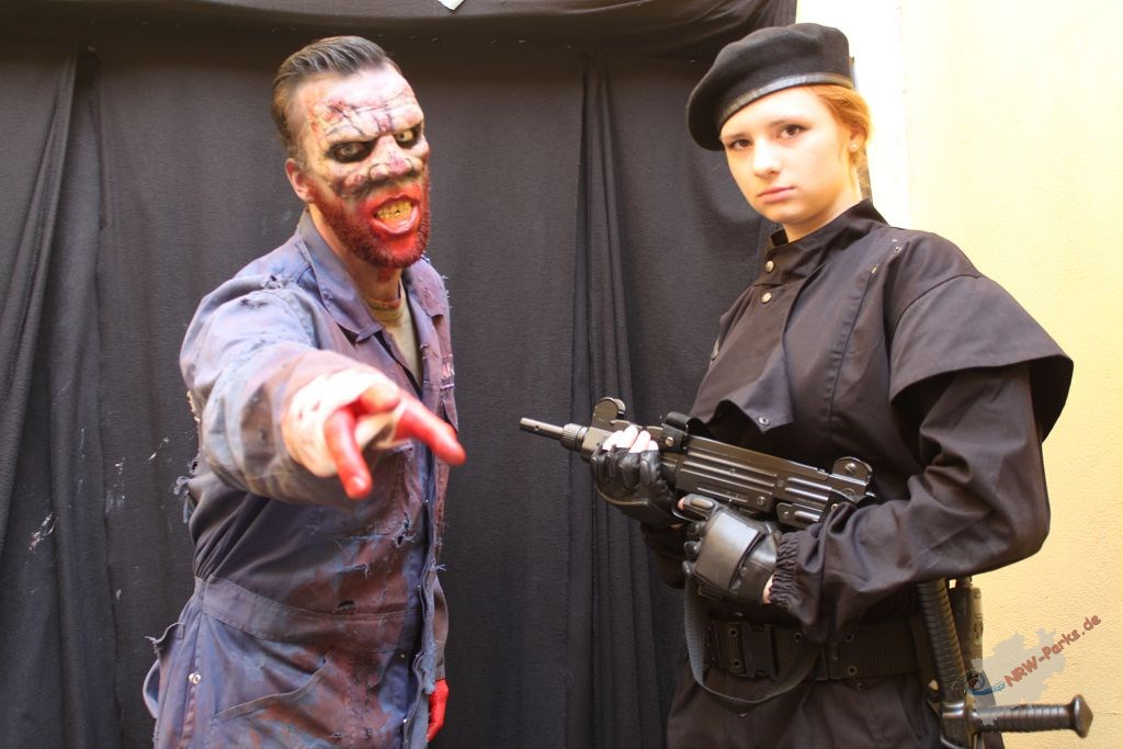 The Walking Dead beim Halloween Horror Fest