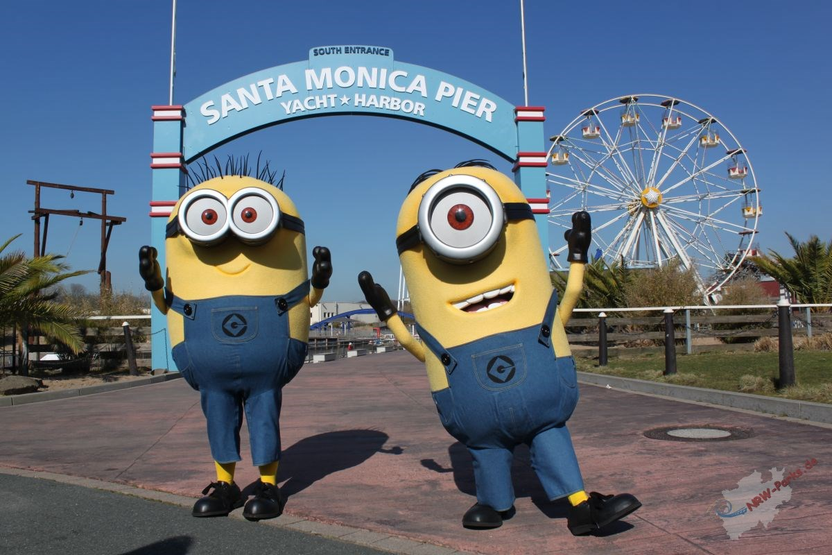 Die Minions im Movie Park Germany