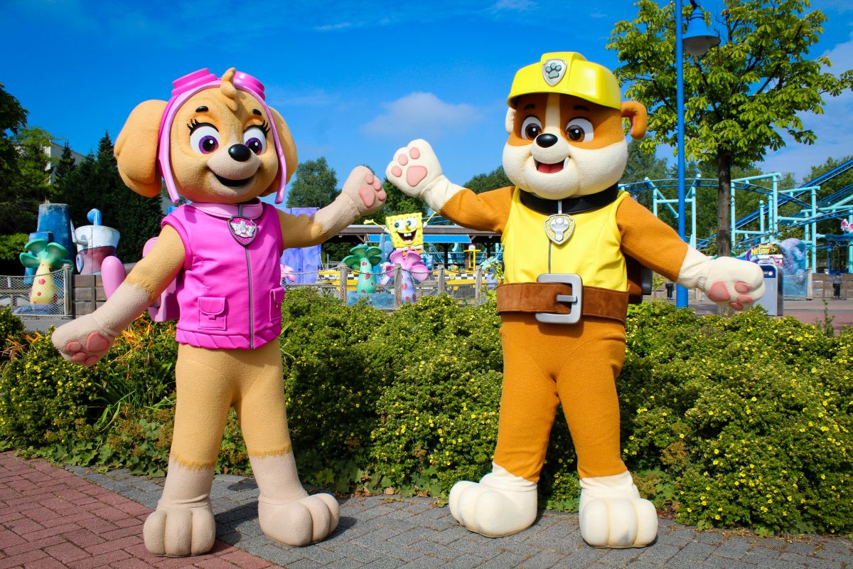 Skye and Rubble verstärken Paw Patrol Familie im Movie Park Germany ab den Sommerferien
