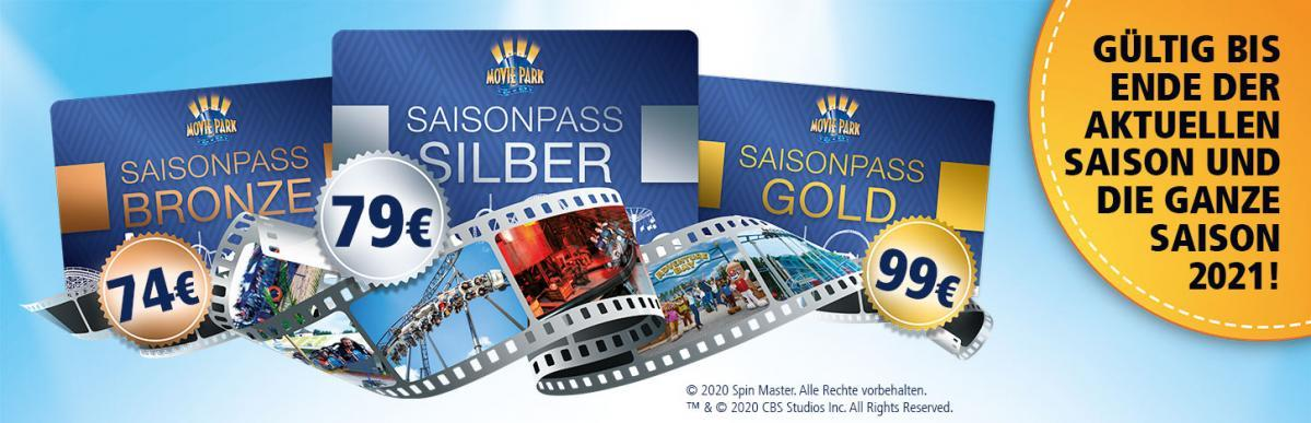 Movie Park Germany Saisonpass 2021