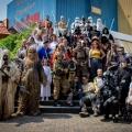 Shake Hands mit Darth Vader und Chewbacca