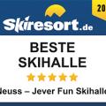 """JEVER FUN SKIHALLE Neuss ist wieder """"Beste Skihalle 2018"""""""