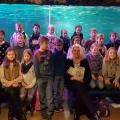 Lesestunde unter Wasser im SEA LIFE Oberhausen